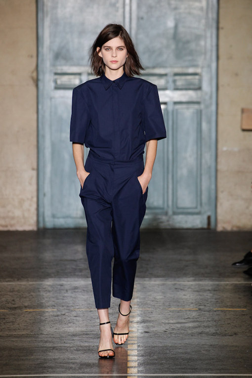 Felipe Oliveira Baptista at Paris Fashion Week Spring Summer 2013