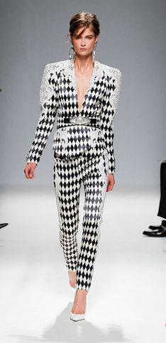 Balmain Parigi Fashion Week primavera/estate 2013