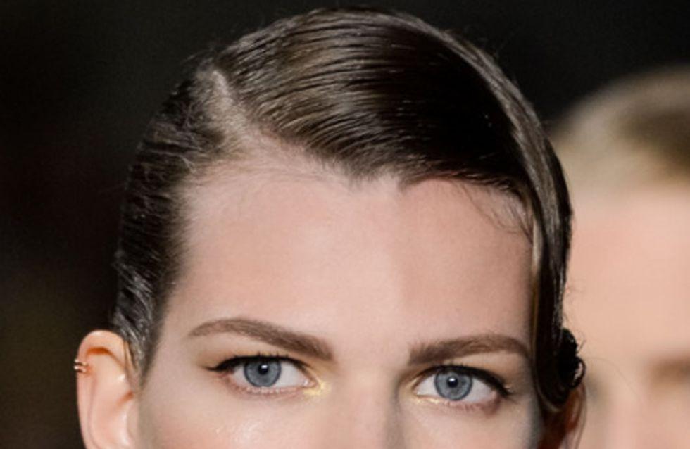 Smokey Eyes & rote Lippen: Die Make-up Trends der Fashion Weeks