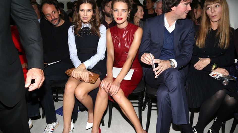 Desfile de famosas en la Semana de la Moda de París