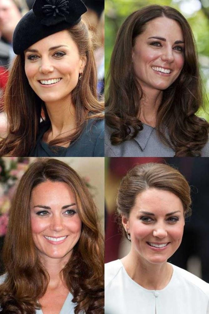 Herzogin Kate und ihre schönsten Frisuren