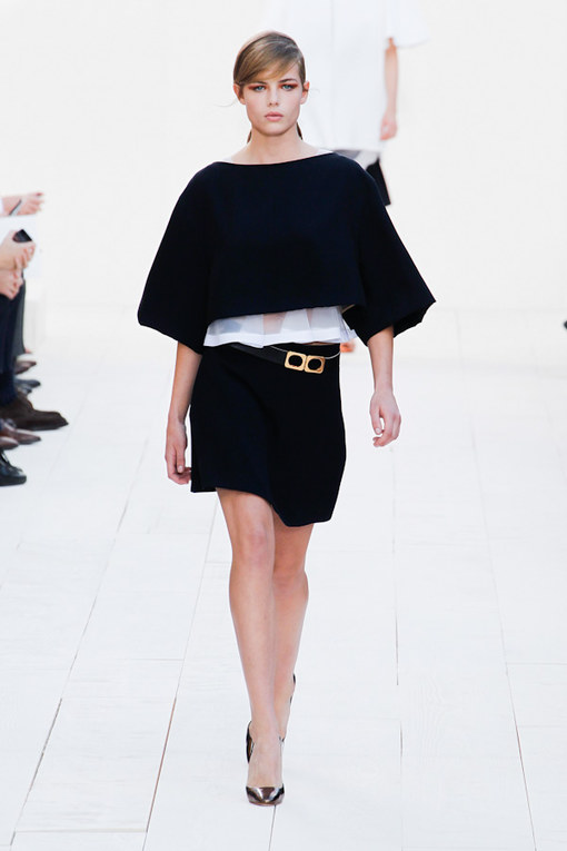 Chloé at Paris Fashion Week Spring Summer 2013