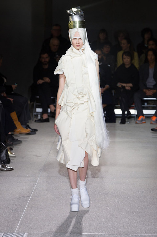 Comme des Garçons at Paris Fashion Week Spring Summer 2013