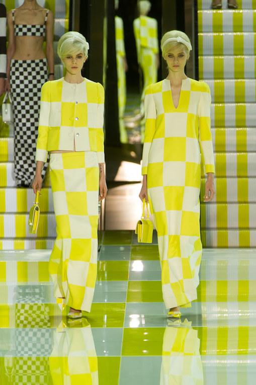 Louis Vuitton Parigi Fashion Week primavera/estate 2013