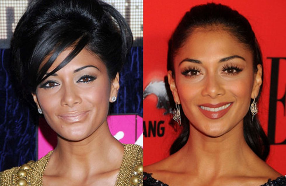 Nicole Scherzinger Hair: Sleek 'n Shiny