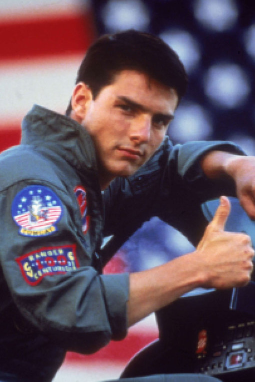 Hot men in uniform: Tom Cruise