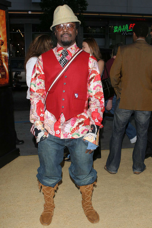 Fashion disasters: Will.i.am