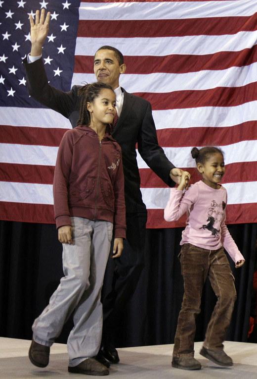 Die First-Kids Malia und Sasha Obama
