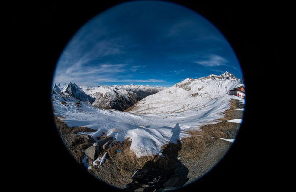 Sonne, Schnee und heiße Reifen: Die Conti Alpine Challenge