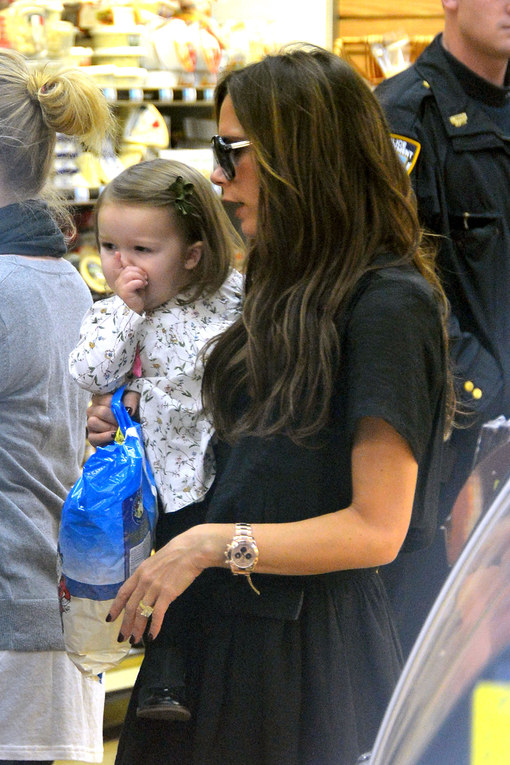 Shopping a New York per Victoria Beckham e figlia