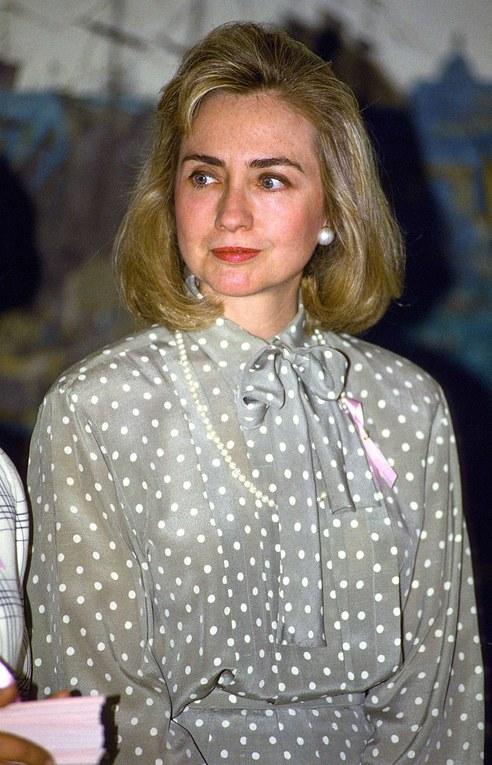 Hillary Clinton en 1993