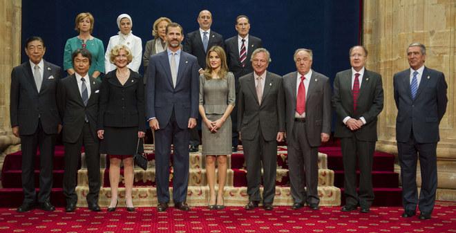 Los galardonados con el premio Príncipe de Asturias