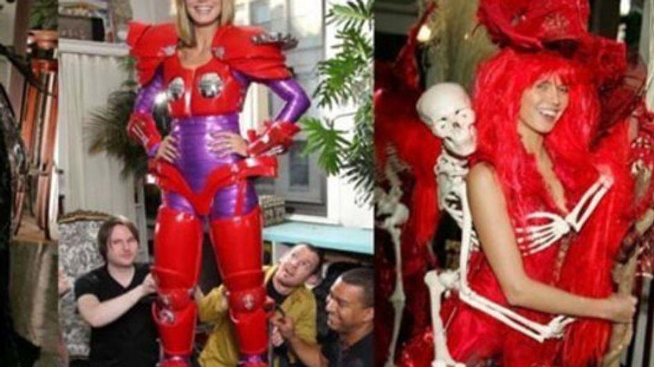 Trick or Treat: Die schaurigsten Halloween-Kostüme der Stars