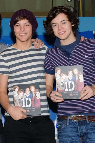 Celebrity roommates: Louis Tomlinson and Harry Styles