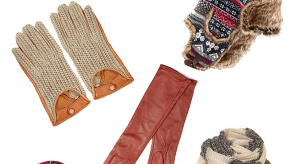 Winter accessories: Hats, scarves 'n gloves