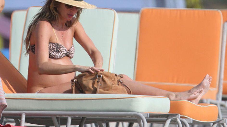 Gisele Bundchen a Miami con il pancione