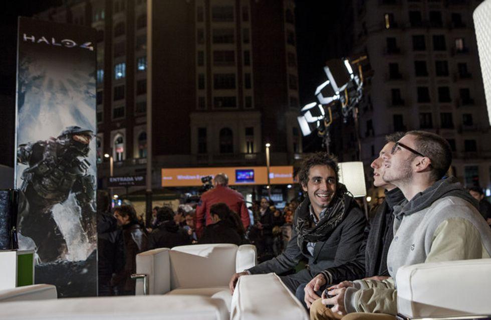 Halo 4: el Jefe Maestro reúne a los famosos en Madrid