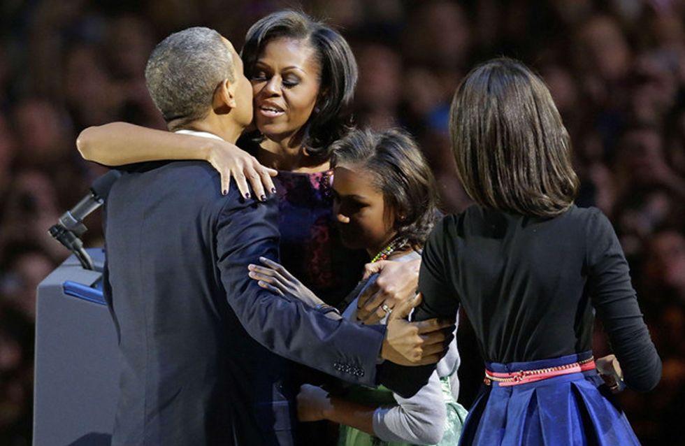 Foto/ La vittoria di Obama in immagini