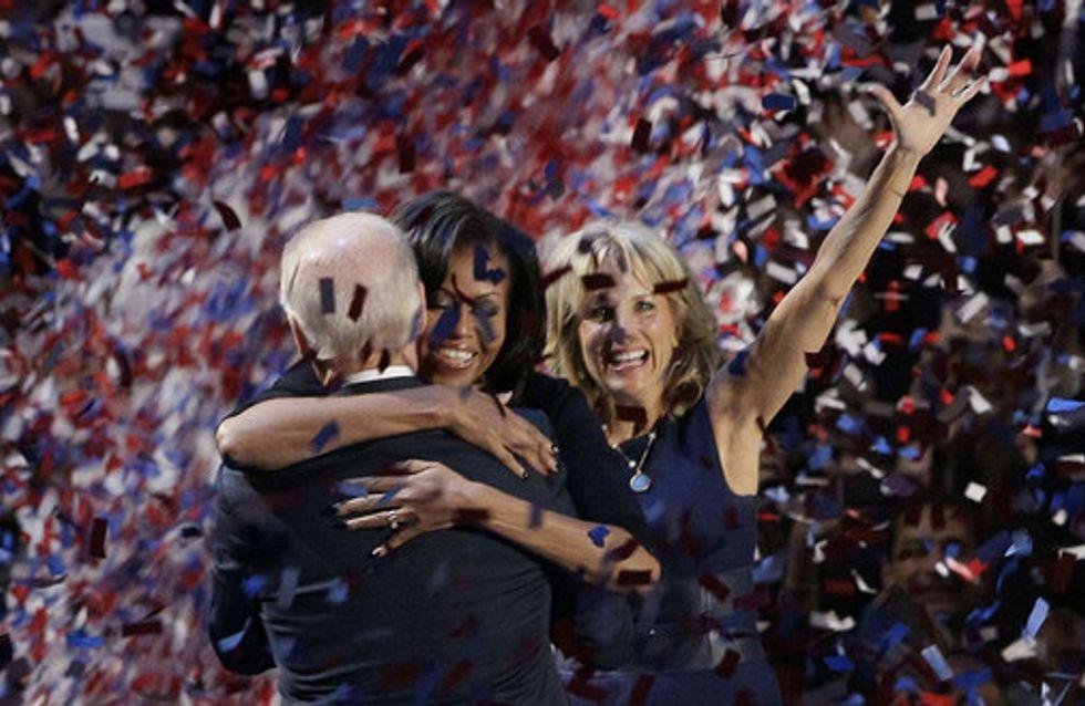 La victoria de Barack Obama en imágenes