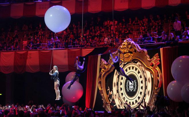 I protagonisti degli MTV European Music Awards 2012