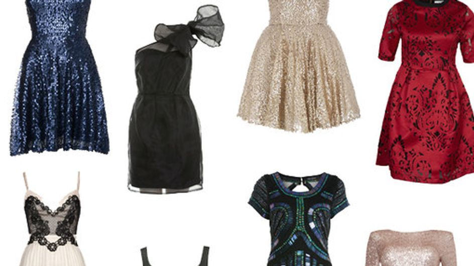 Christmas party dresses: Festive frocks for under £100