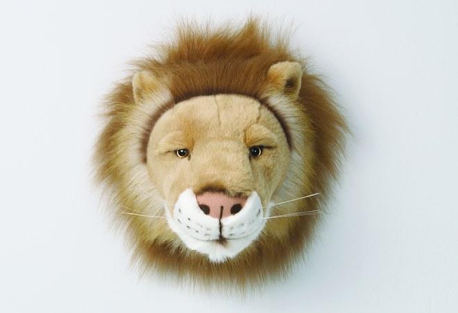 Trophée lion - J'aime bébé