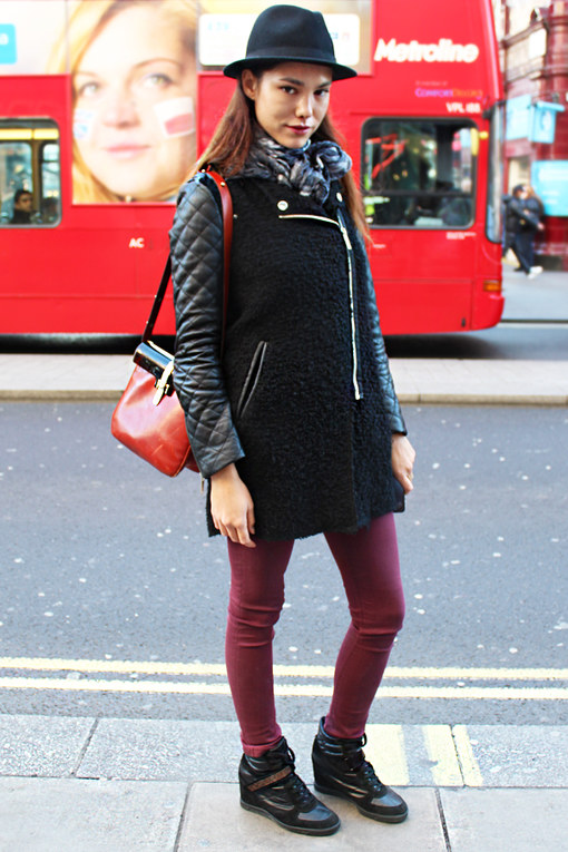 Street style Londres hiver 2012