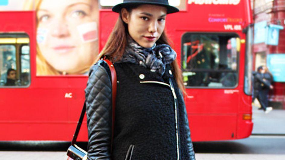 Brandneue Streetstyle-Fotos: London zieht sich warm an!