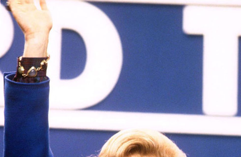 Margaret Thatcher, adiós a la Dama de Hierro