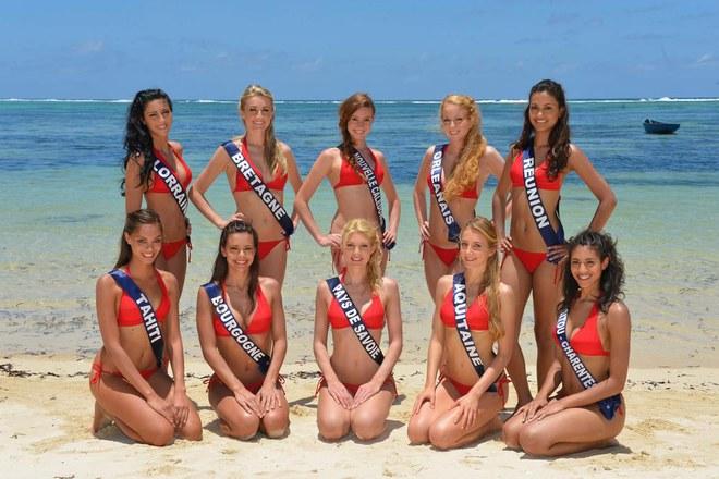 Miss France 2013 : les candidates