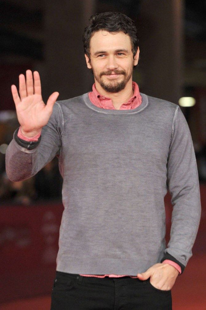 Geek chic: James Franco