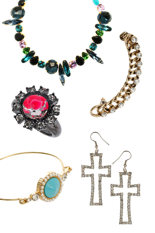 Bling accessories: 100 Party perfect pieces
