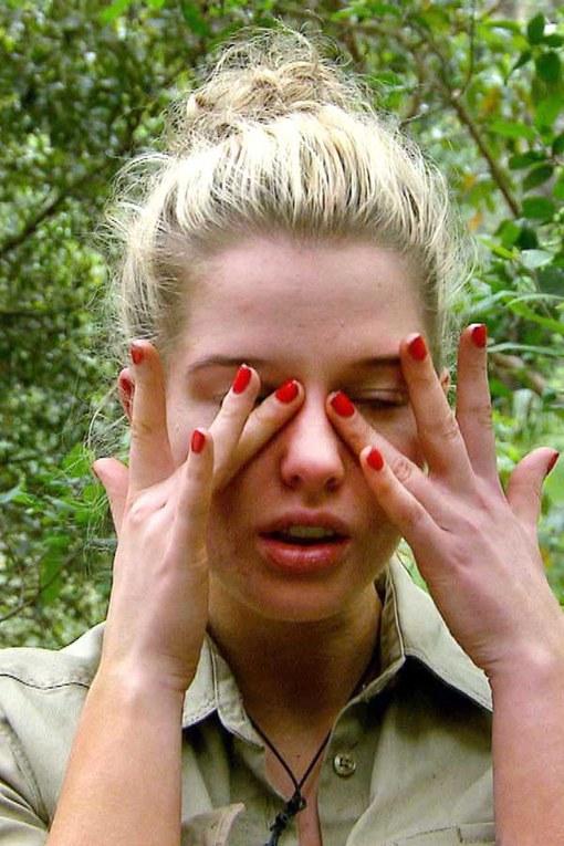 Crying celebrities: Helen Flanagan