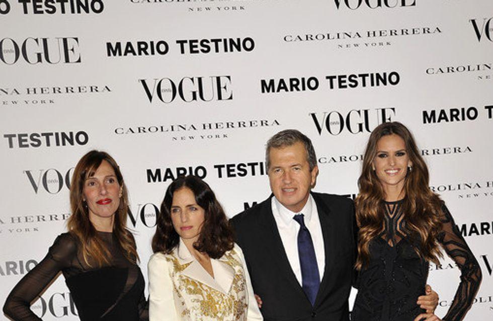 Mario Testino, de fiesta en España