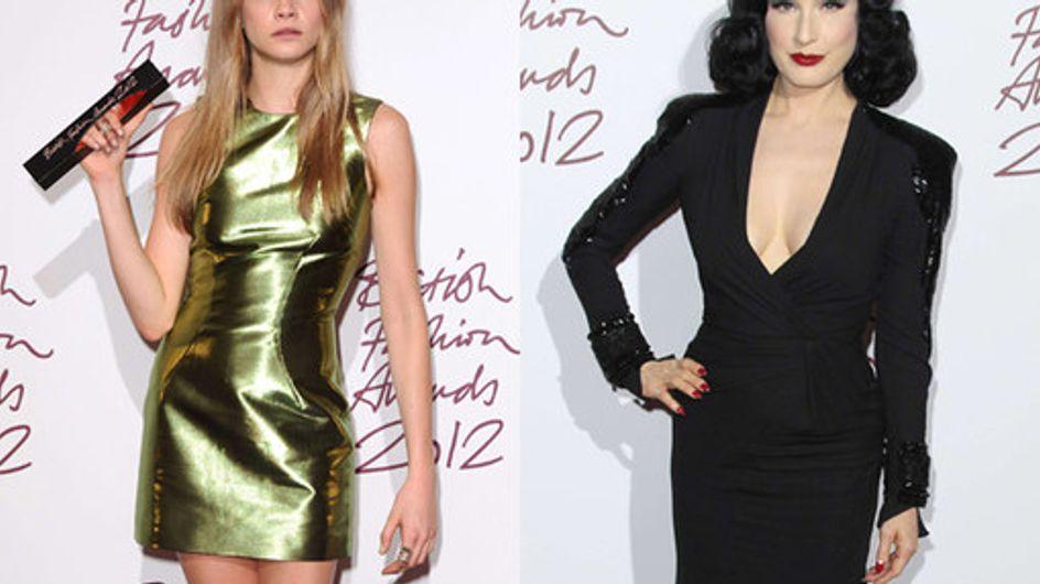 British Fashion Awards 2012: Who wore what?