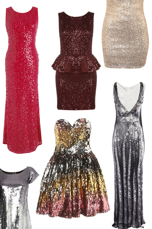 The sequin dress: 50 Sparkly frocks