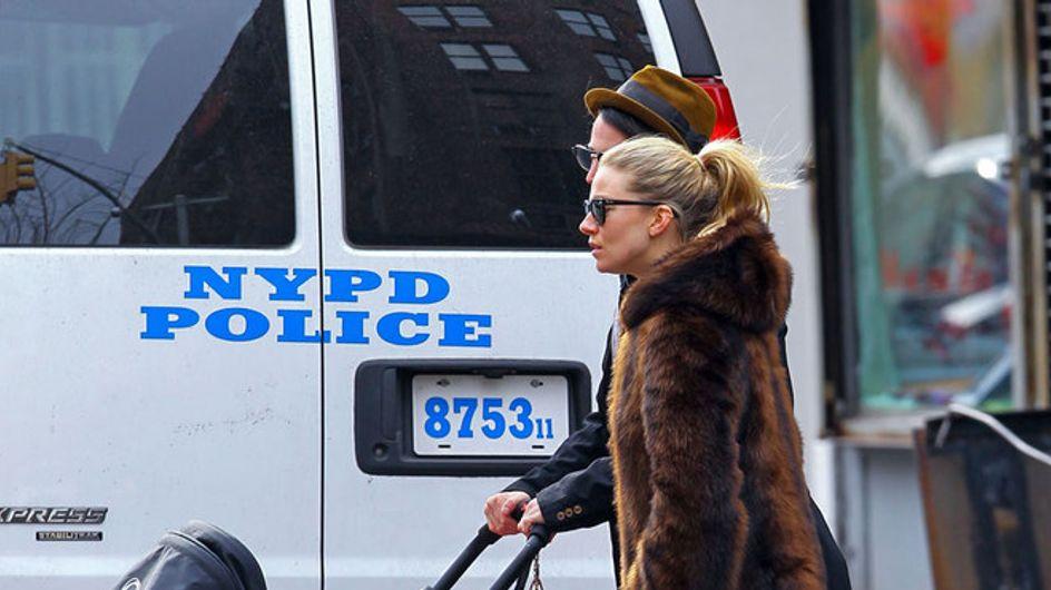 Foto/ Sienna Miller, una mamma fashion a New York