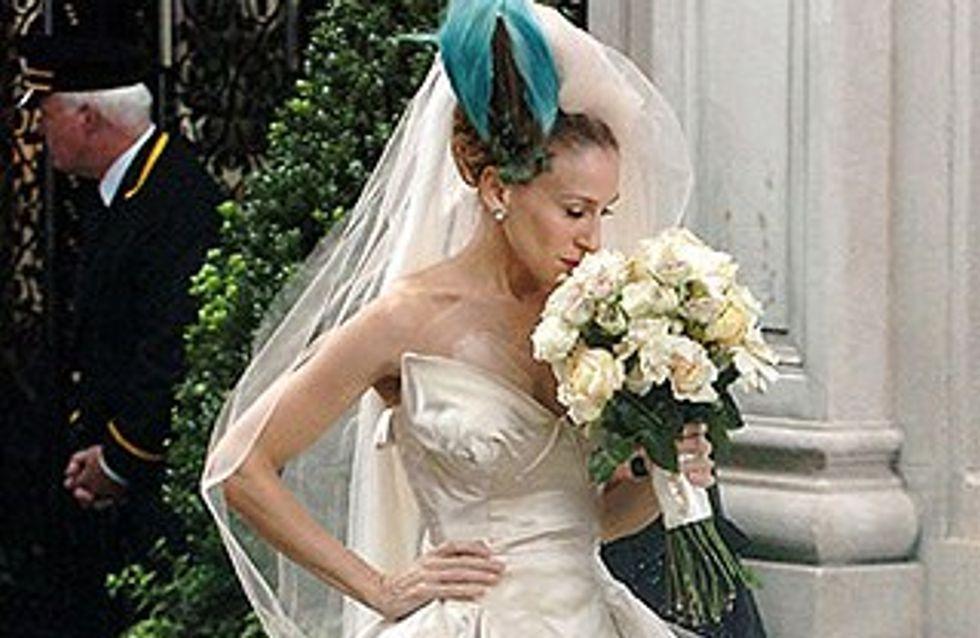 Os mais belos vestidos de noiva do cinema