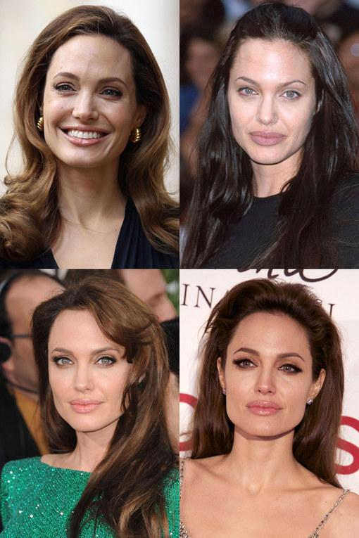 Angelina Jolie en haar prachtige lokken!