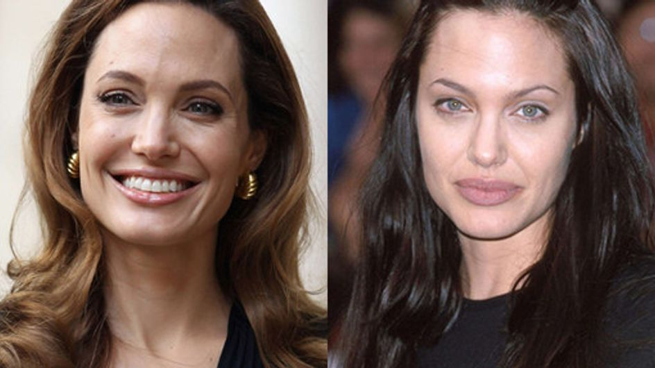 Angelina Jolie hair: Beautiful brunette locks