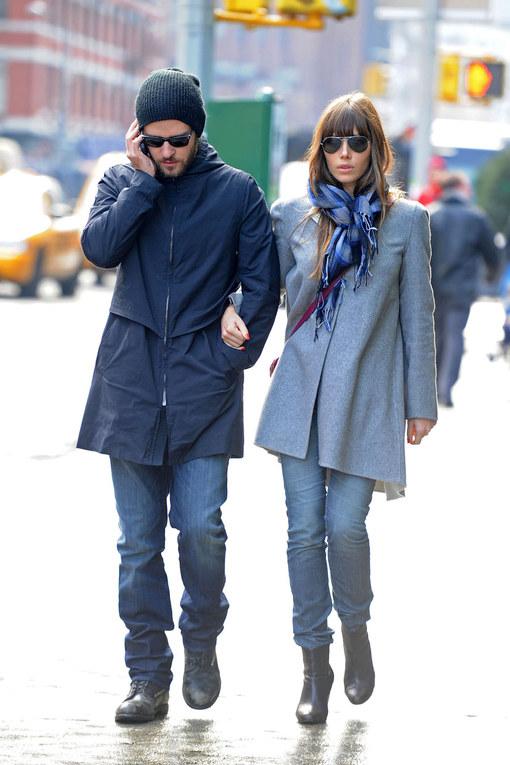Biel-Timberlake, due innamorati a New York