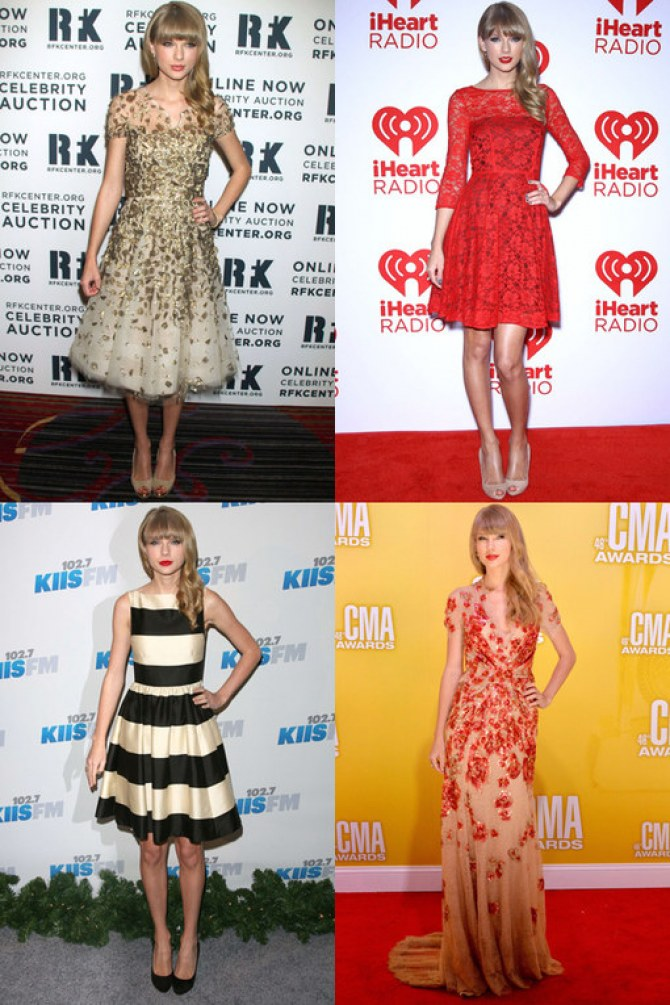 Taylor Swift's sexy style: Her hot fashion wardrobe