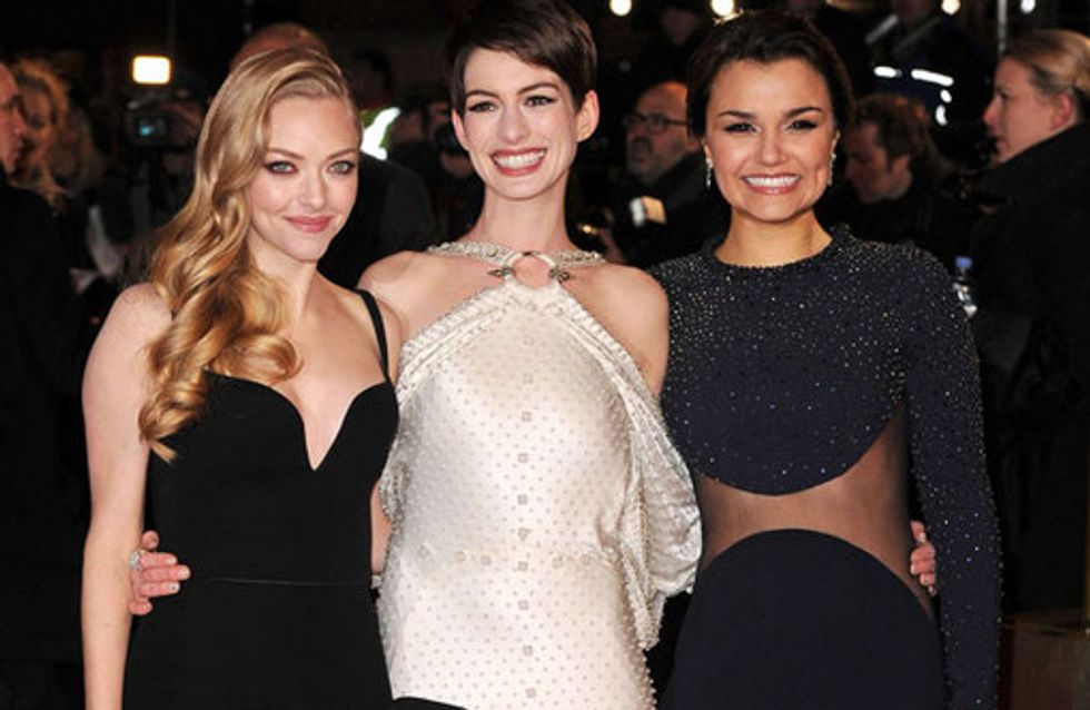 Les Miserables London premiere