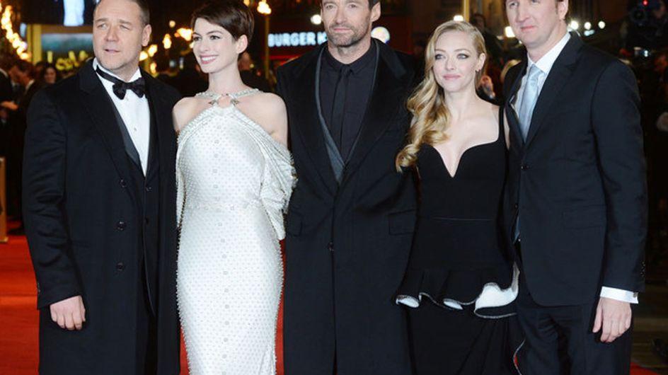 """Foto/ Gli attori de """"Les Misérables"""" alla première di Londra"""