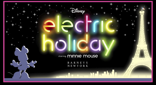 Electric Holiday - Il cartoon Disney con le icone della moda