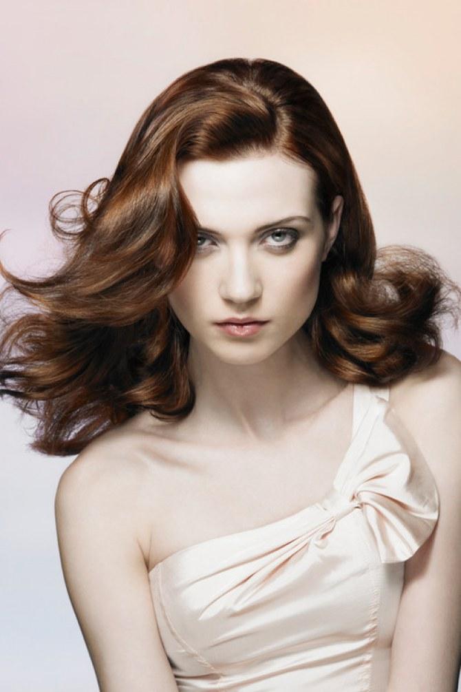 Peinados para cabellos castaños