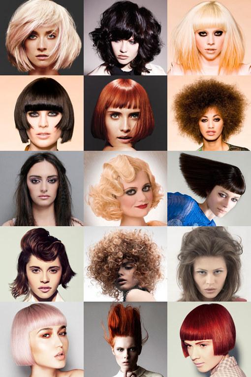 Peinados media melena 2013
