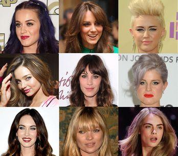 De mooiste kapsels van celebrities in 2012