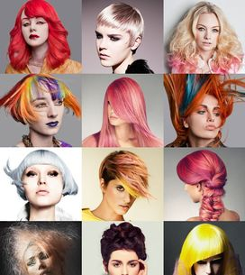 Gekke haarkleuren: trends 2013