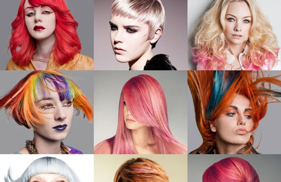 Crazy hair colours: Colour trends to try 2016